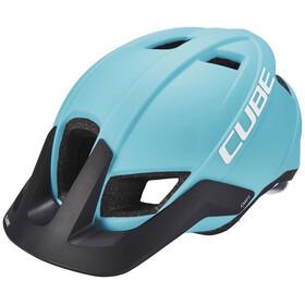 Cube CMPT Helmet iceblue'n'white